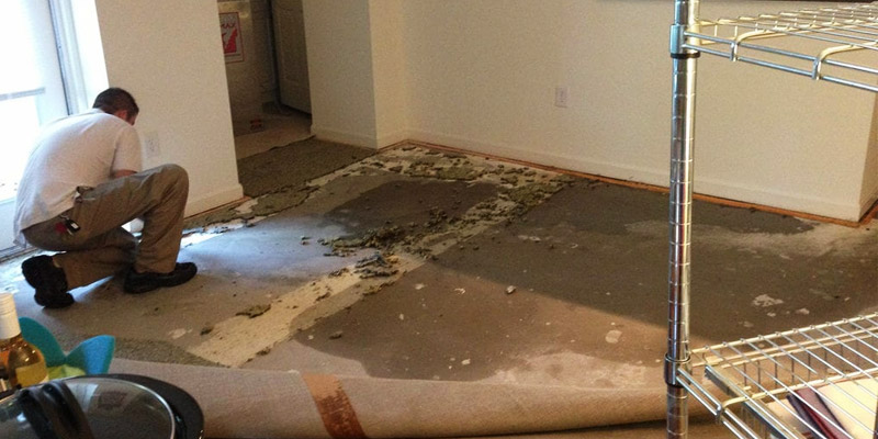 flood damage restoration in Houston